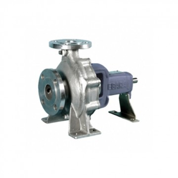 Stainless steel end suction volute pump