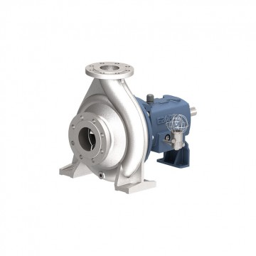 Horizontal end suction volute process pump
