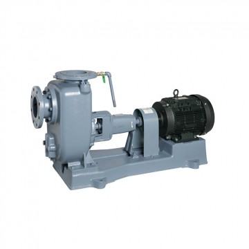 Self-priming volute pump