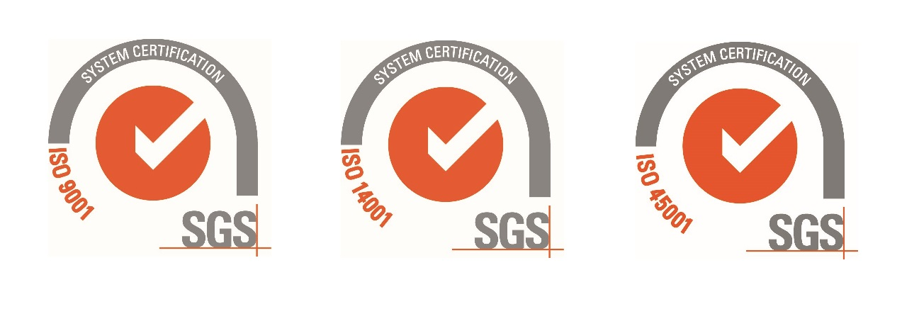 New ISO Integrated Management System Certification